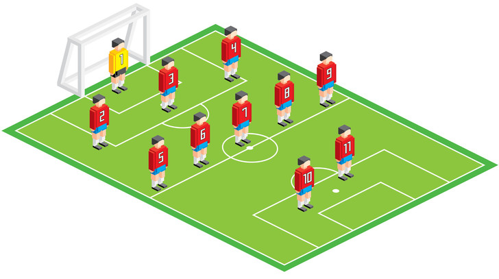 Фото №3 - Болей как Бекхэм! Памятка футбольным любителям для Евро-2020