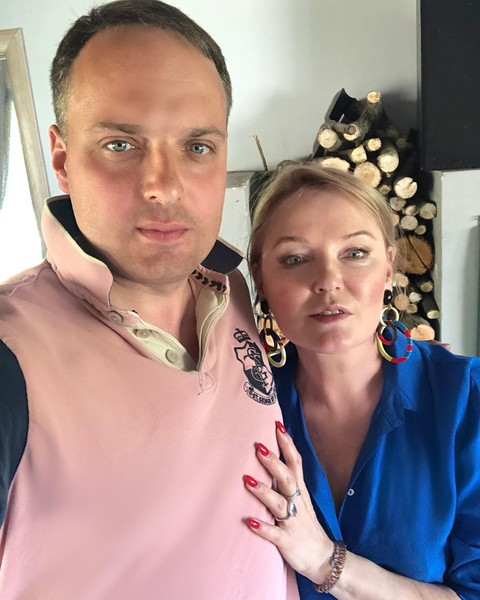 Фото №2 - «Сильный, надежный, родной»: Лариса Вербицкая опубликовала редкое фото 41-летнего сына