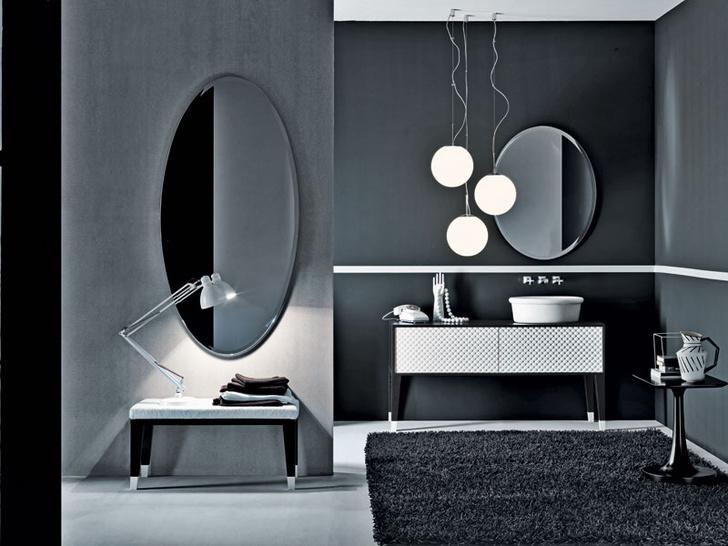 Сантехника и мебель для ванной из коллекции Coco, Falper, www.falper.it, галереи Arte di Vivere.