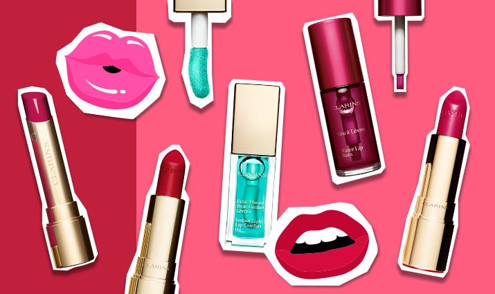 Фото №1 - День губной помады на сайте Clarins.ru: купи средства для губ со скидкой 50%