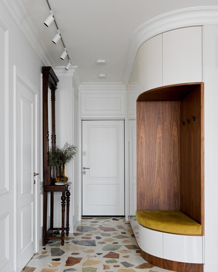 Фото №8 - Современная квартира с винтажной мебелью
