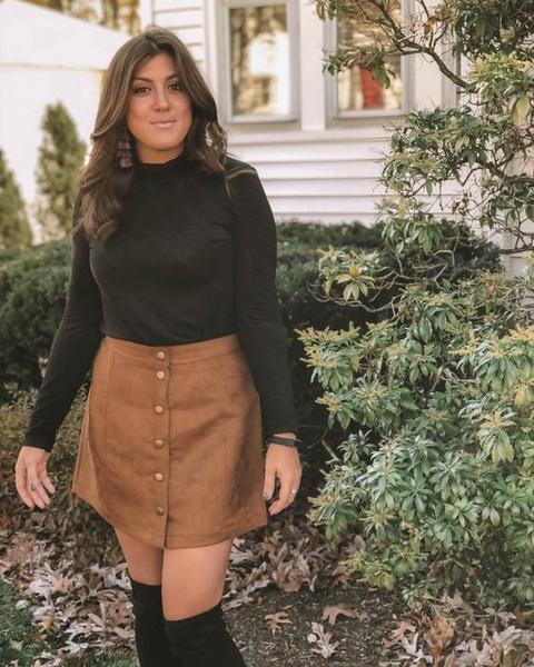 Фото №2 - Антитренд: как НЕ нужно носить юбки зимой ❌