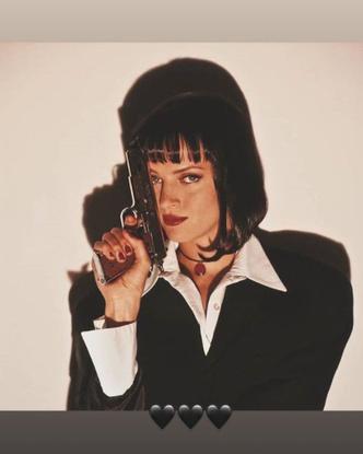 Фото №2 - Как в кино: Дженни из BLACKPINK показала новый образ, вдохновленный любимым фильмом 🎬