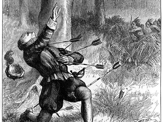 Фото №5 - Загадка Роанока: что случилось с колонией, бесследно изчезнувшей более 400 лет назад