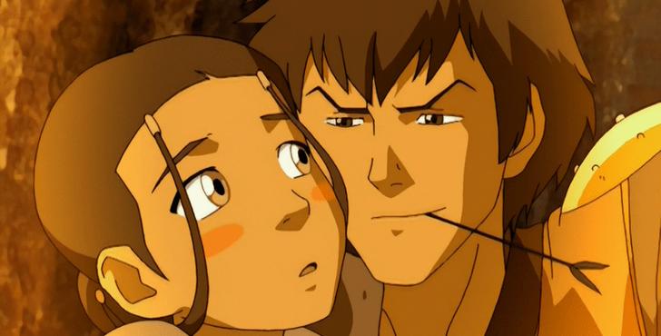 Фото №6 - Топ фанатских пар в «Аватаре: Легенде об Аанге», которым не суждено сбыться 💔