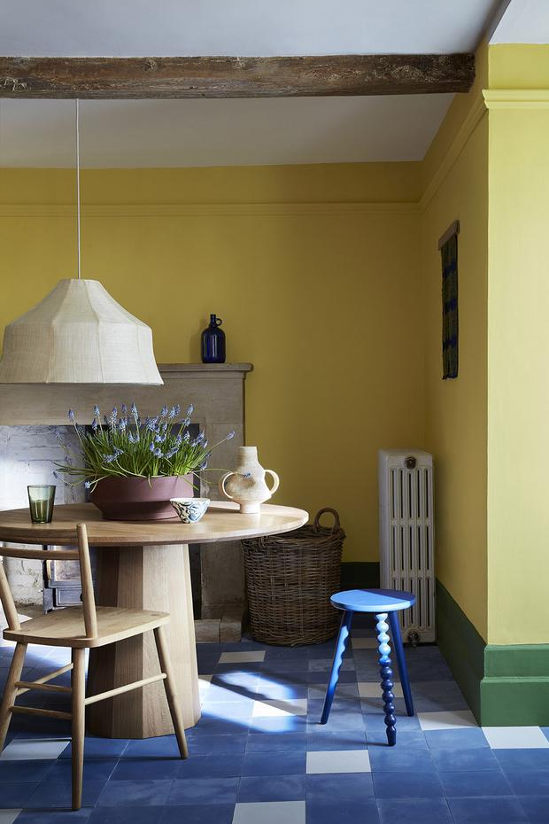 Фото №19 - Красим стены в желтый: 6 секретов солнечного интерьера