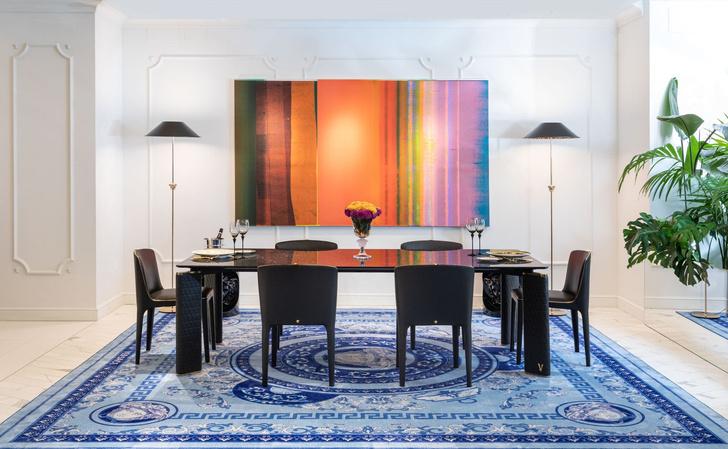 Фото №12 - Новая коллекция Versace Home в Милане