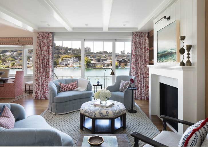 Фото №1 - Дом с видом на залив в Калифорнии