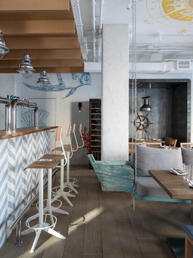 Фото №11 - Ресторан «Морская» в Москве