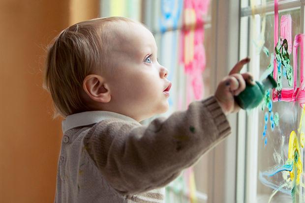 Фото №2 - Пальчиковые краски для малышей