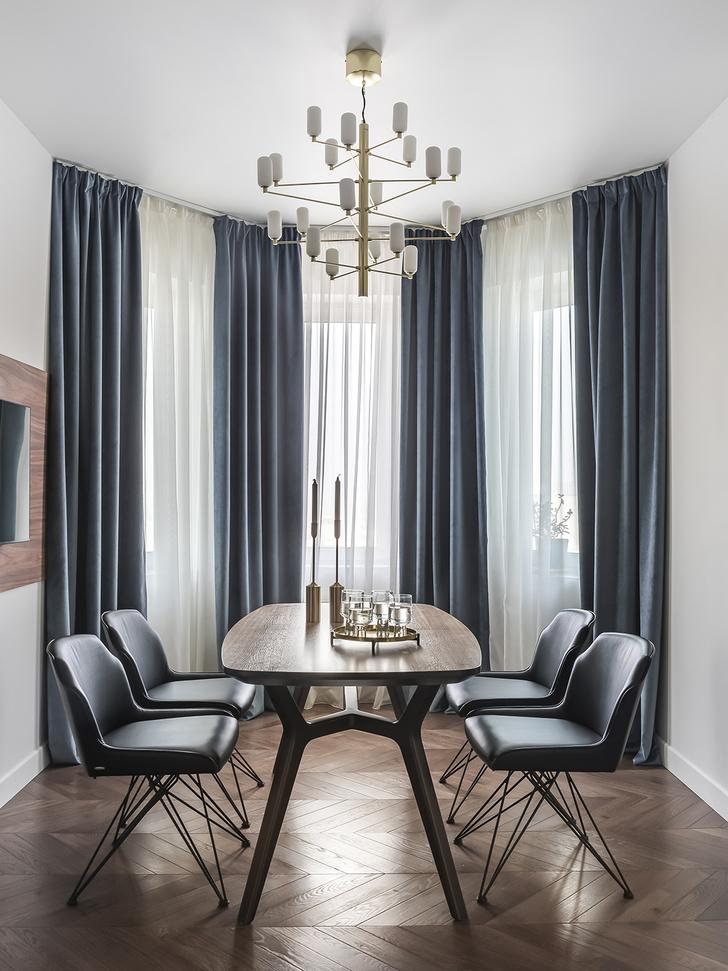 Фото №5 - Серо-голубая квартира в Самаре