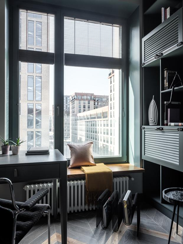 Фото №5 - Квартира 26 м² со спальней на антресоли