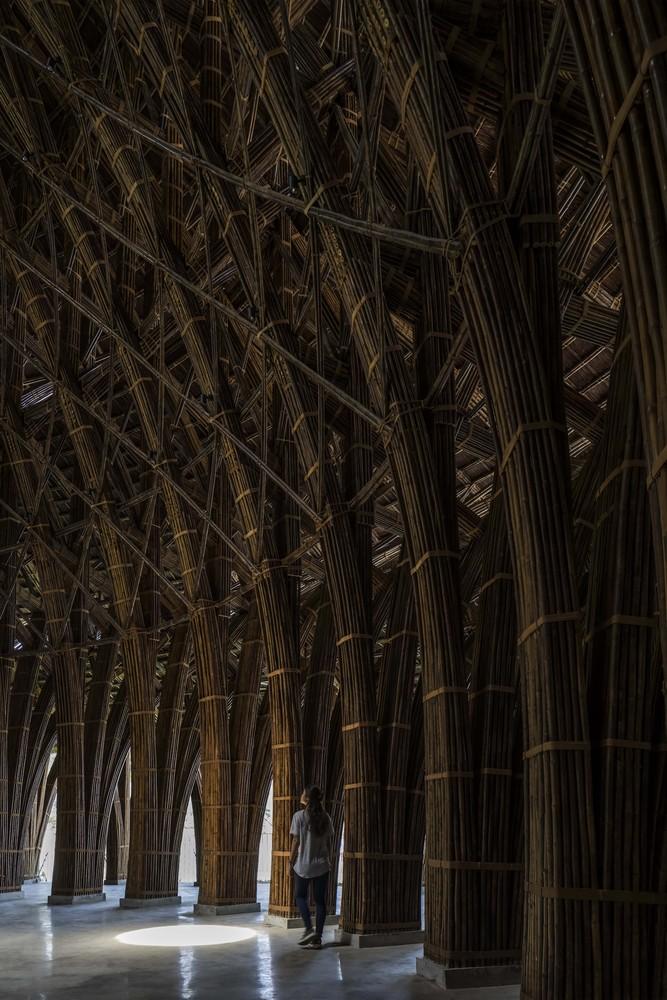 Фото №4 - Ресторан из бамбука во Вьетнаме