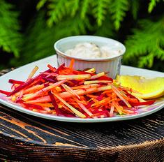 Свекольный салат с цитрусовой ноткой