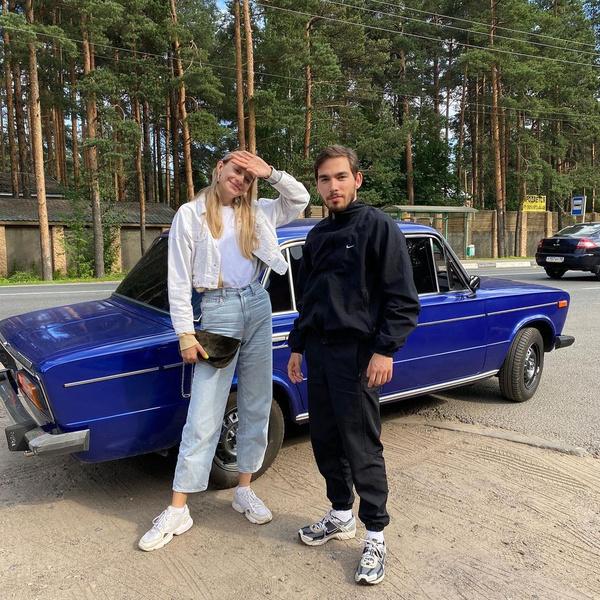 Анна Зосимова и Петар Мартич