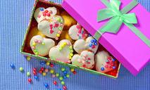 Печенье-сердечки с глазурью