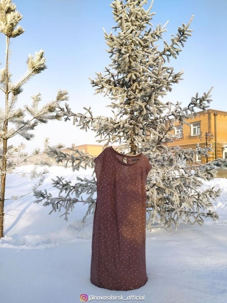 Фото №2 - В Сибири запустили «дубак-челлендж»: как ведут себя «Доширак», одежда и кипяток при температуреминус 50