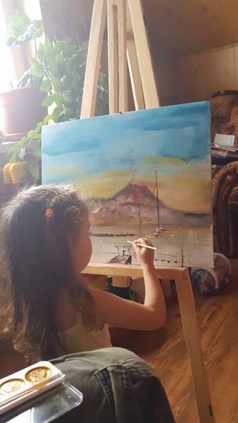 Фото №10 - «Мечтала быть милиционером, а теперь рисую»: как татарка Азалия нарушила семейную традицию и путешествует по свету