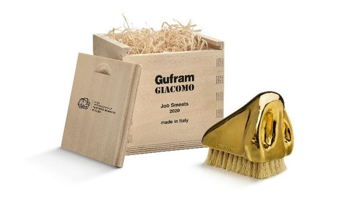 Фото №1 - Щетка для трюфелей: коллаборация Gufram и Job Studio