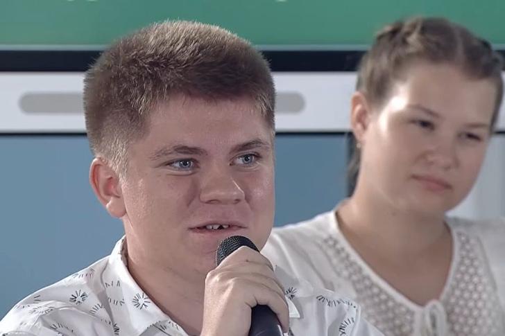 мальчик, который поправил Путина