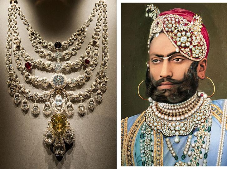 Фото №1 - Сокровища индийских князей: как выглядят самые роскошные украшения махараджей