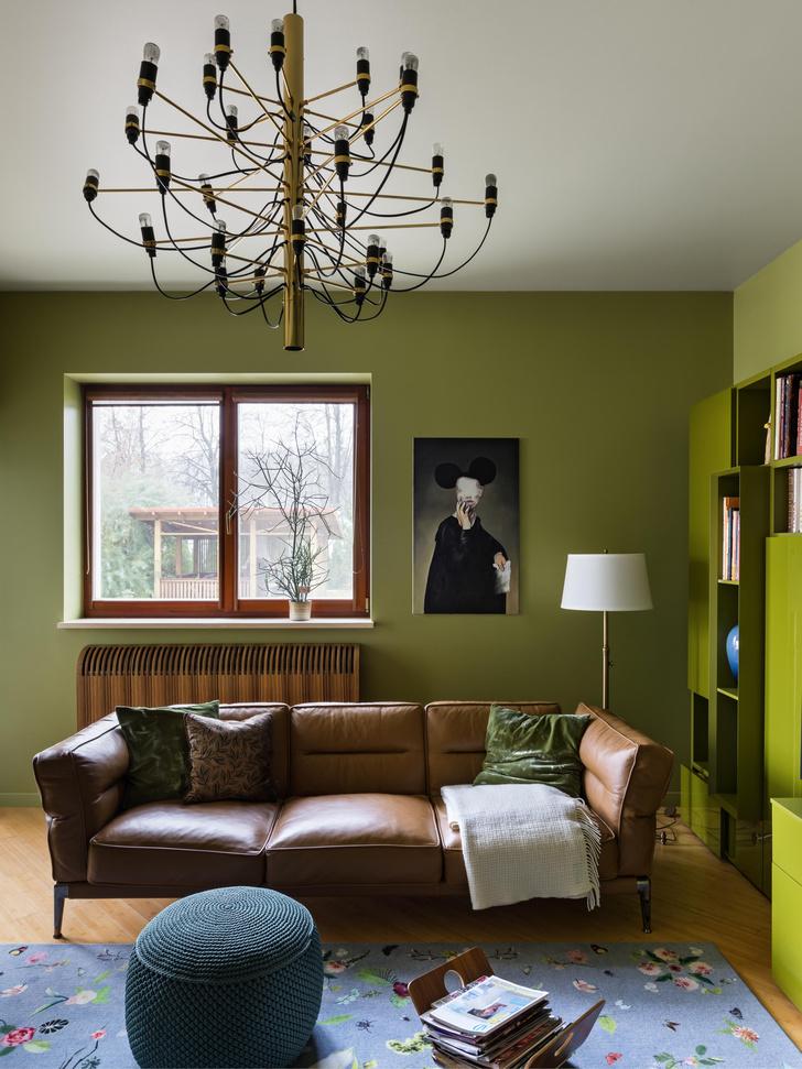 Фото №2 - Дом в зеленых тонах под Минском
