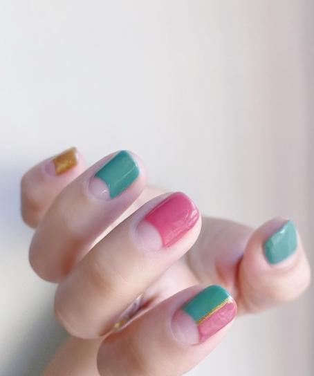 Фото №4 - Пастельный маникюр для коротких ногтей: самые трендовые идеи