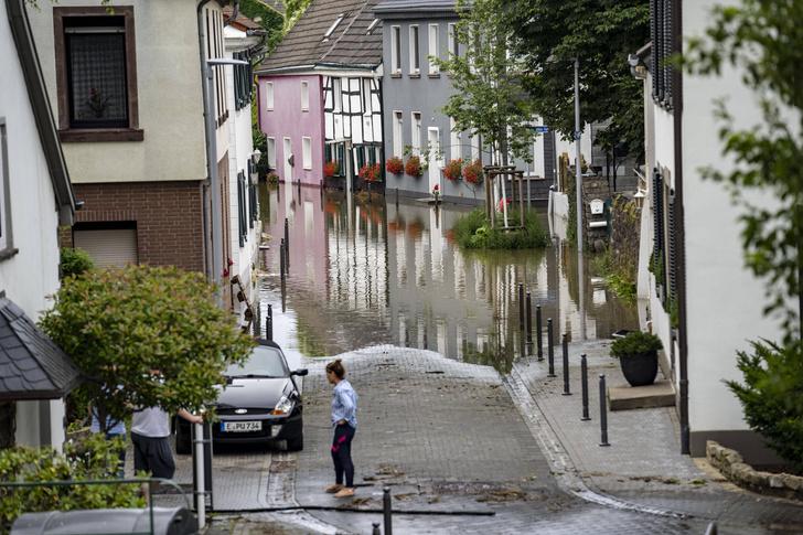 Фото №1 - Города Европы уходят под воду