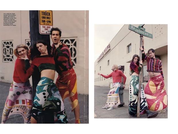 Фото №4 - Выходы и выходки: зачем Курт Кобейн носил платья