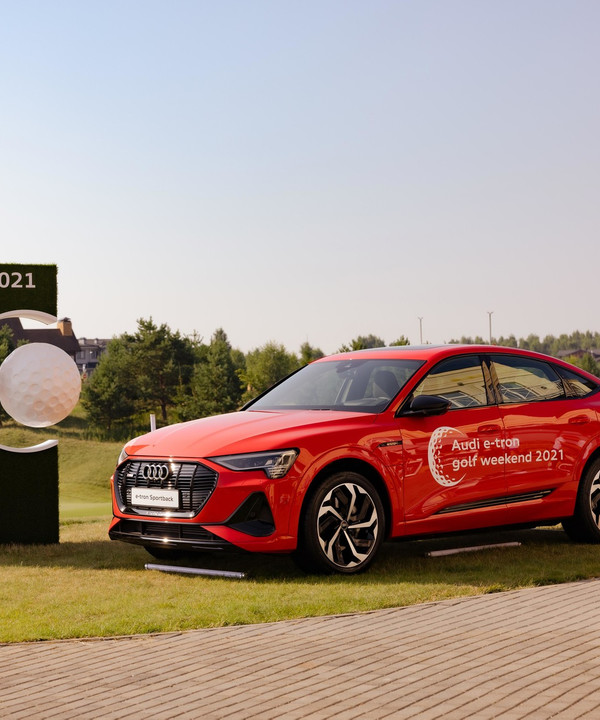 Будущее начинается сейчас: Audi вновь проведет Audi e-tron golf weekend 2021