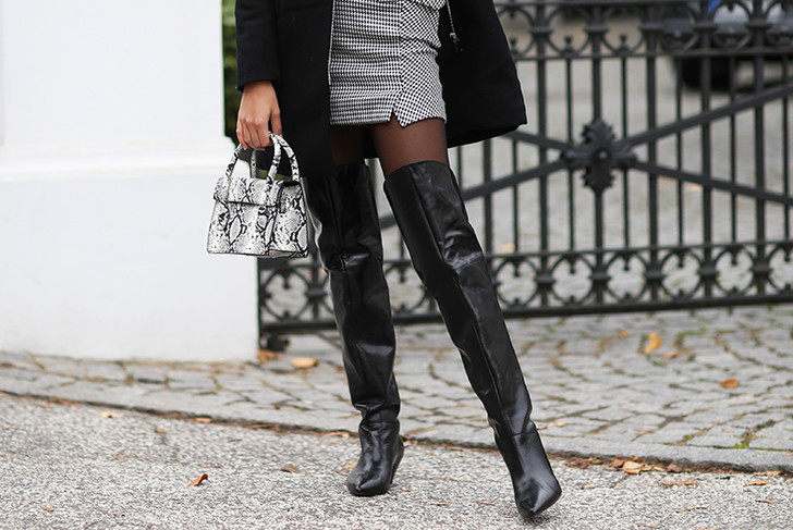 Фото №1 - Модные ботфорты: какие выбрать и с чем носить этой зимой
