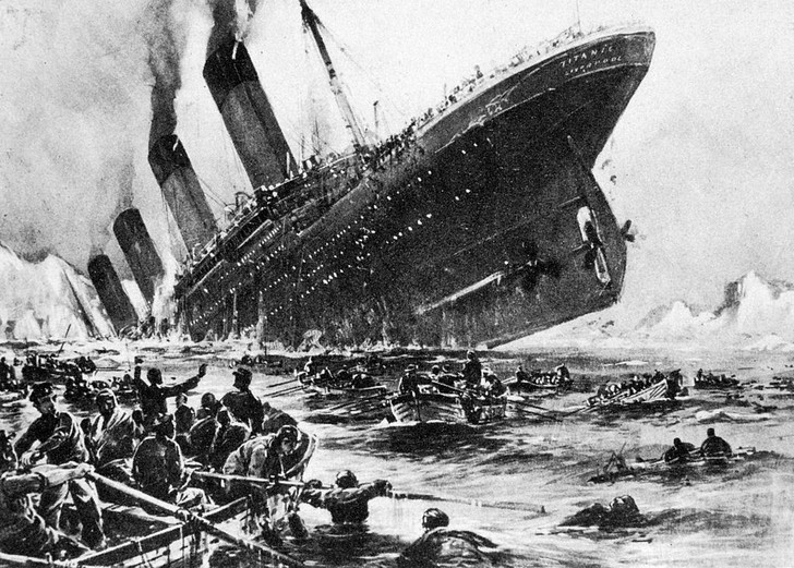 Фото №1 - Инфографика: «Титаник» vs современный круизный лайнер