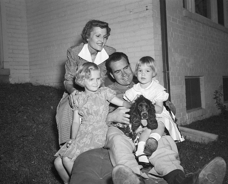 Фото №3 - Как спаниель спас карьеру будущего президента США Ричарда Никсона