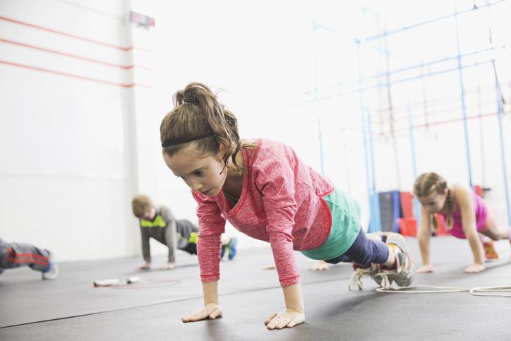 Фото №1 - Детский фитнес