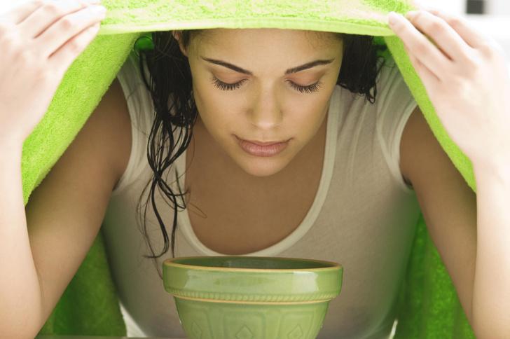 Фото №3 - Очищение кожи в домашних условиях. Травы, фрукты, лед и тепло!