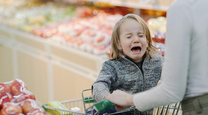 Что делать с детской истерикой?