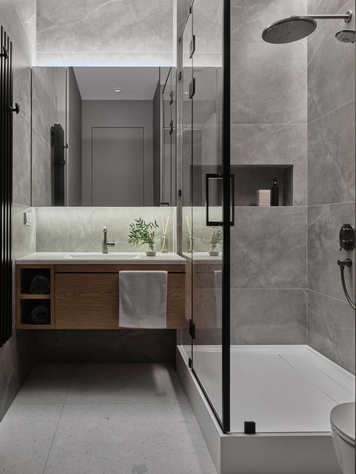 Фото №9 - Московская квартира 200 м² в нейтральных тонах