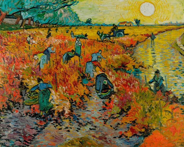 Фото №1 - Картину Ван Гога отреставрируют при поддержке LG SIGNATURE