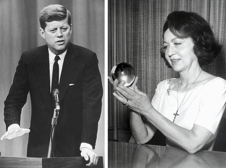 Фото №1 - Провидица или шарлатанка: кем была Джин Диксон, предсказавшая убийство Кеннеди и гибель Монро