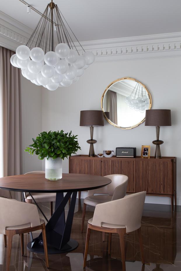 Фото №7 - Белый плюс ваниль: московская квартира 145 м²
