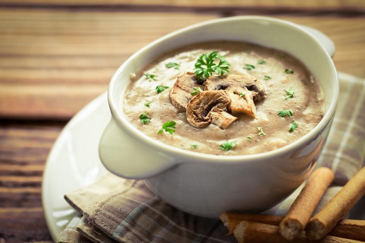 Крем-суп из шампиньонов, как приготовить вкусно и быстро