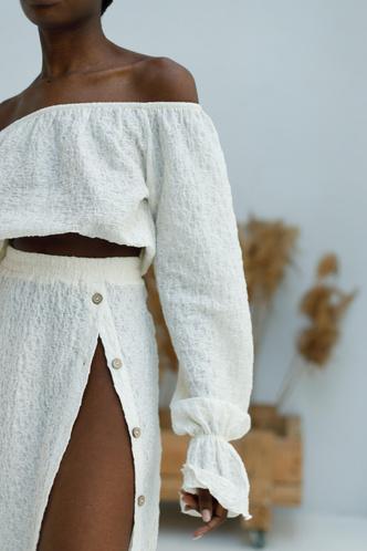 Фото №2 - Костюмы из органического хлопка, которые хочется носить все лето: коллекция Riri.moscow