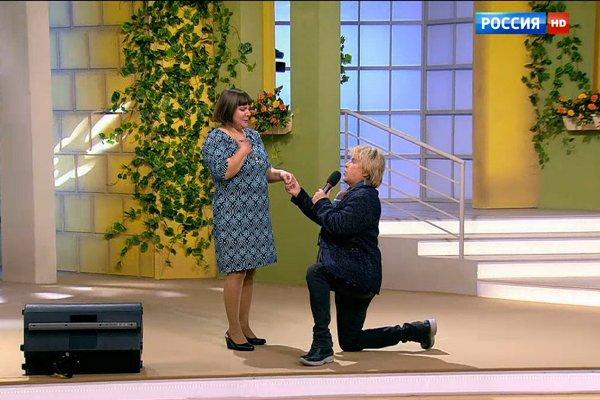 Фото №2 - Алексей Глызин встретился с влюбленной в него кемеровчанкой