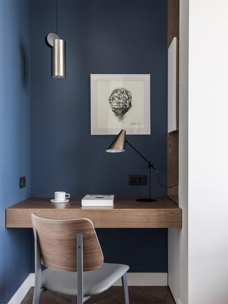 Фото №11 - Серо-голубая квартира в Самаре