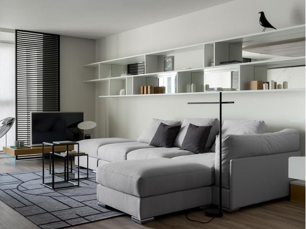 Фото №2 - Светлая квартира 83 м² в новом доме в Саратове