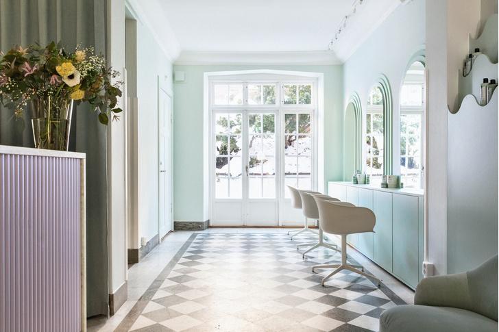 Фото №3 - Салон красоты в пастельных тонах в Стокгольме
