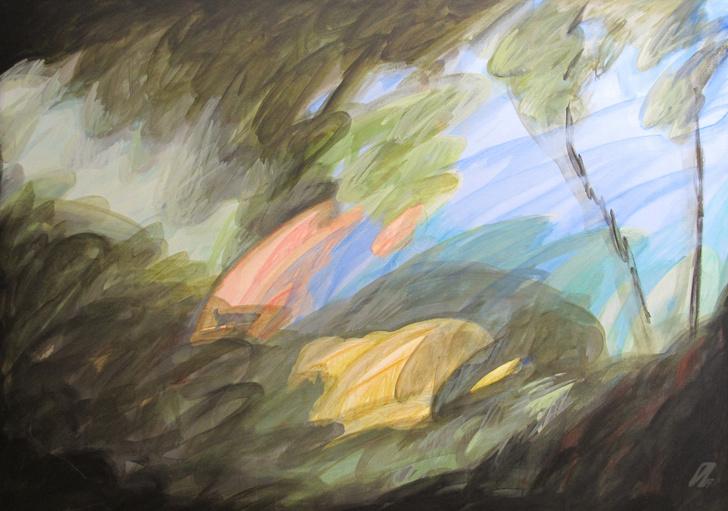 Фото №4 - Выставка Ивана Глазкова в галерее ART & BRUT