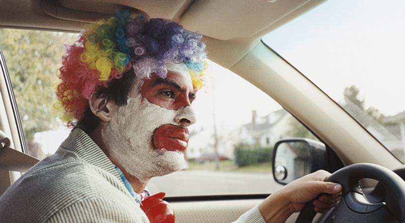 I always act like a clown