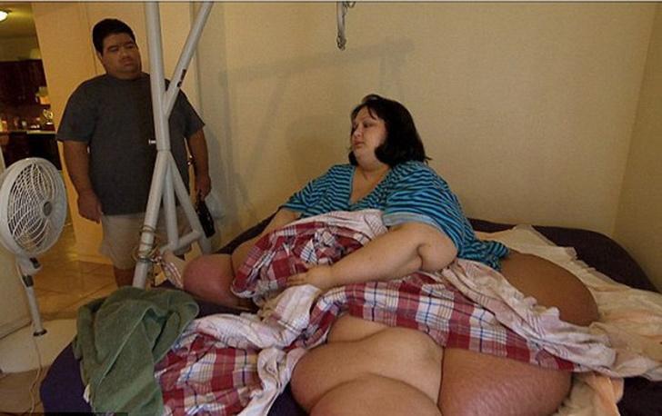 Фото №3 - Похудела на 408 кг и бросила мужа: как сейчас живет самая толстая женщина в мире?