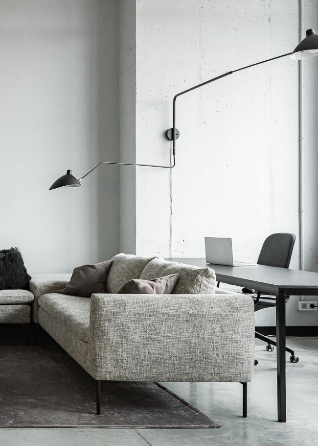 Фото №7 - Монохромный офис дизайн-бюро Simple interiors